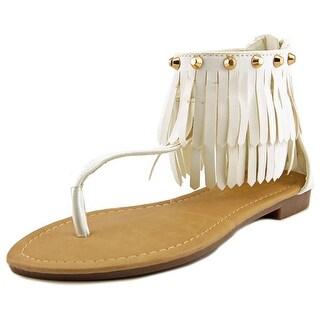 Adriana New York Cathy-12 Women Open Toe Synthetic Gladiator Sandal