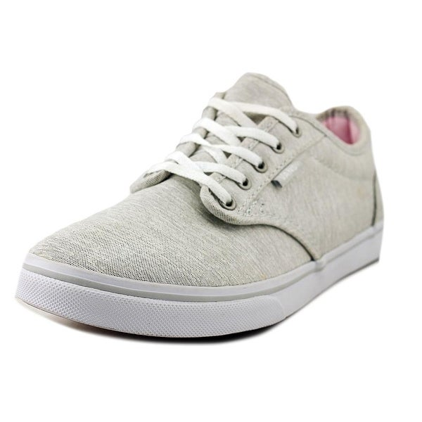91b066cd2974ce Shop Vans Atwood Light Grey Skateboarding Shoes - Free Shipping On ...