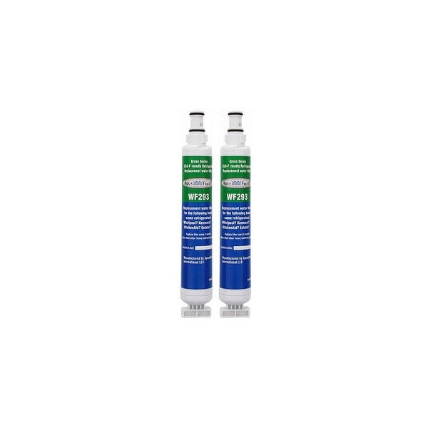 Replacement Water Filter For Whirlpool Filter 6 Refrigerator Water Filter by Aqua Fresh (2 Pack)