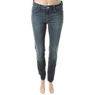Zara Trafaluc Womens Slim Fit Mid-Rise Skinny Jeans