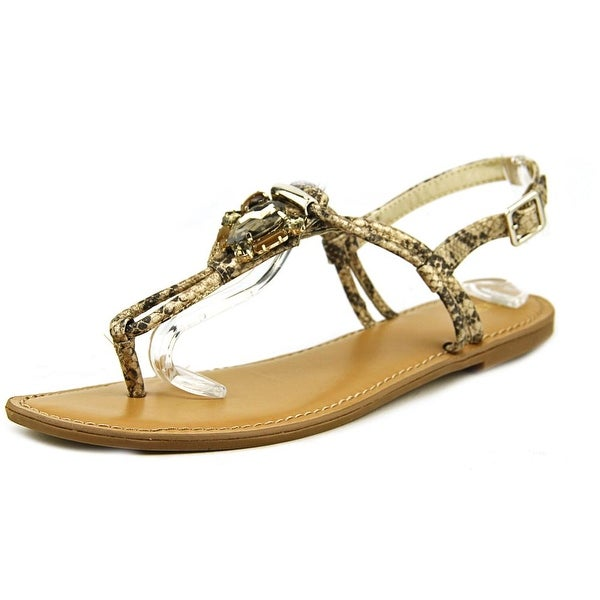 Bar III Victory Open Toe Synthetic Thong Sandal