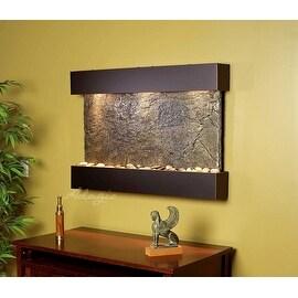 Adagio RCS1502 Reflection Creek - Green Natural Slate Wall Fountain