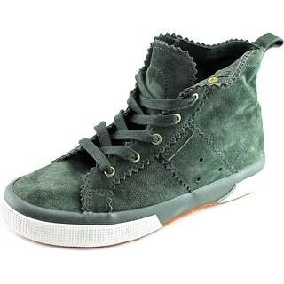 Superga 2095 PLUS Round Toe Suede Sneakers