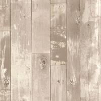 Brewster 347-20130 Kitchen & Bath Resource III Heim 56 Sq. Ft. Distressed Wood Imitating Expanded Vinyl Prepasted Wallpaper -