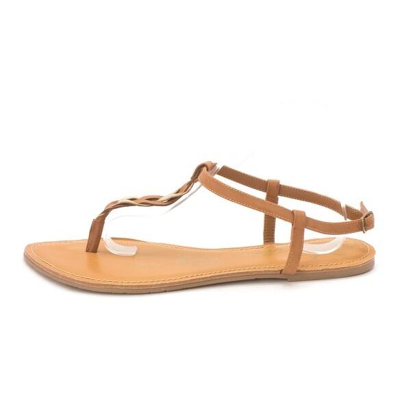 American Rag Womens Krissy Split Toe Casual T-Strap Sandals