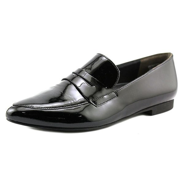 Paul Green Ellie Women Pointed Toe Patent Leather Black Loafer