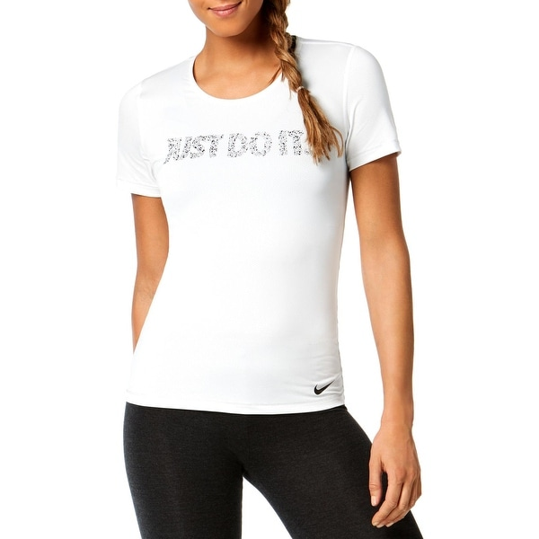 c3cb9864bc Shop Nike Womens Pro Shirts   Tops Fitness Yoga - Free Shipping On ...
