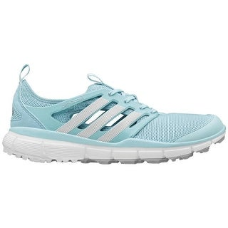 Adidas Women's Climacool II Clear Aqua/White/Silver Golf Shoes Q46730