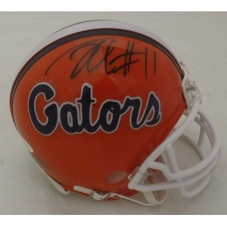 Jordan Reed Autographed Florida Gators Riddell Mini Helmet JSA