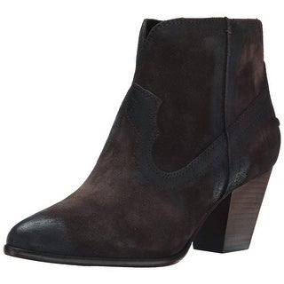 Frye Womens Renee Seam Suede Pointed Toe Ankle Fashion Boots