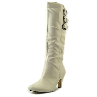 Bella Vita Transit II Wide Calf Round Toe Synthetic Knee High Boot