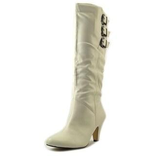 Bella Vita Transit II Wide Calf W Round Toe Synthetic Knee High Boot
