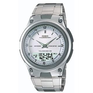 Casio Mens Sports Chronograph Alarm Databank Watch