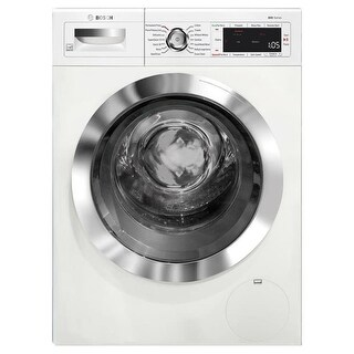 Bosch WAW285H2U 24 Inch Wide 2.2 Cu. Ft. Front Loading Washer with Speed Perfect
