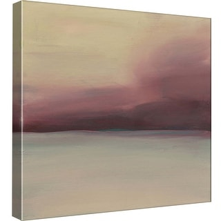 """PTM Images 9-99571  PTM Canvas Collection 12"""" x 12"""" - """"Red Sky"""" Giclee Rural Art Print on Canvas"""