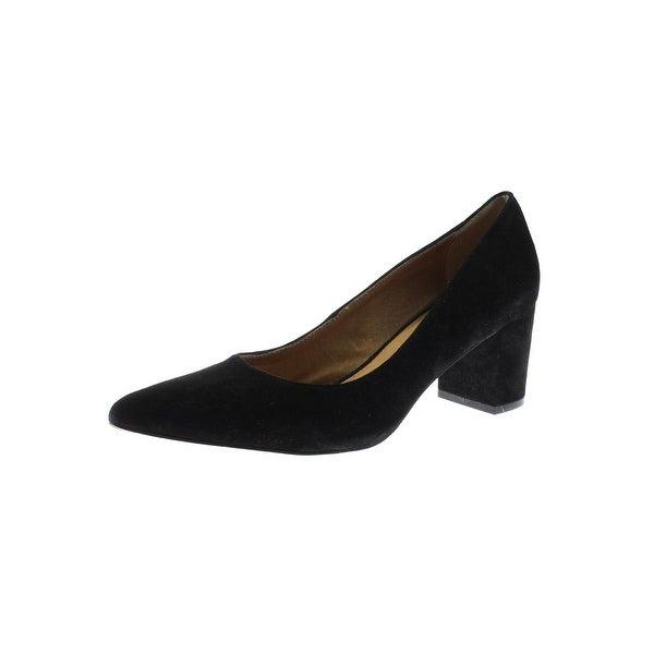 Corso Como Womens Regina Dress Heels Suede Pointed Toe