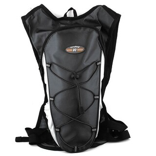 Outdoor Hiking Camping Cycling Water Bladder Bag Hydration Backpack Pack Black