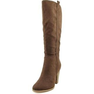 Charles By Charles David Skyler Women Pointed Toe Suede Knee High Boot