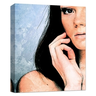 """PTM Images 9-124816  PTM Canvas Collection 10"""" x 8"""" - """"Glam Sight"""" Giclee Women Art Print on Canvas"""