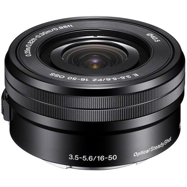 Sony E PZ 16-50mm f/3.5-5.6 OSS Lens (International Model) - black