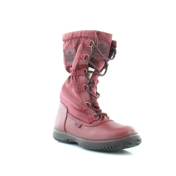 Coach Sage Women's Boots Cherry - 6.5