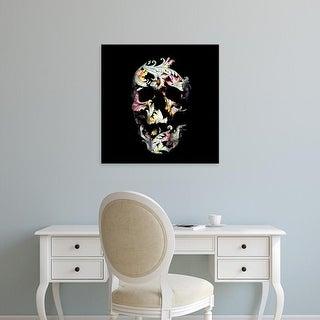 Easy Art Prints Ali Gulec's 'Paisley Skull' Premium Canvas Art