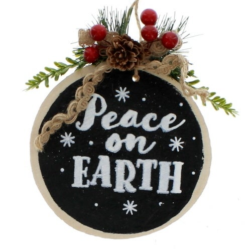 Peace on Earth Log