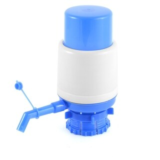 Unique Bargains Outdoor Office Household Plastic Hand Press Bottled Drinking Water Pump