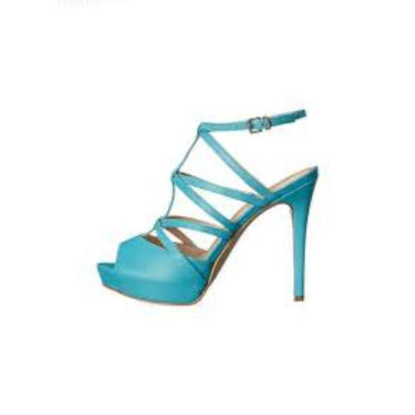 GUESS Womens Hazzel Peep Toe Special Occasion Ankle Strap Sandals