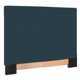 Howard Elliott Sterling Indigo Slipcovered Headboard Indigo 100% Polyester Upholstery Headboard