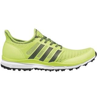 Adidas Men's Climacool Solar Yellow/Solar Yellow/Core Black Golf Shoes Q44605