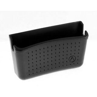 Car Backseat Black Plastic Self-adhesive Backed Bracket Phone Storage Holder