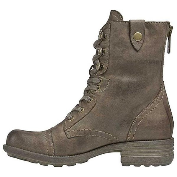 Shop Rockport Women's Cobb Hill Bethany Boot Stone Full