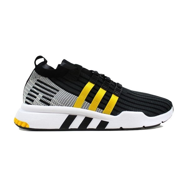 dce6f0ac566b Shop Adidas Men s EQT Support Mid ADV Primeknit Black Yellow-White ...