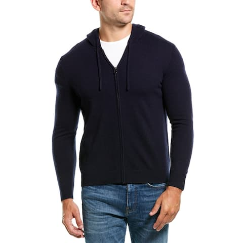 Amicale Cashmere Hooded Cashmere Jacket