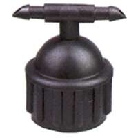 Rain Drip 336STUB .5 In. Dual Port Riser Adapter