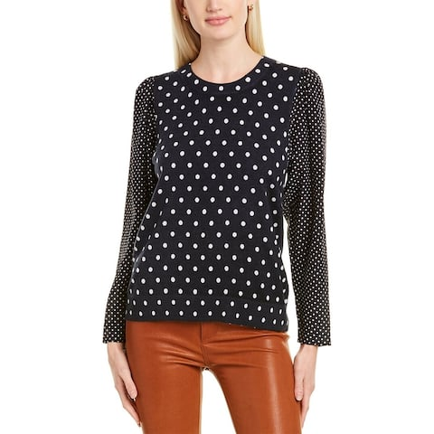 Rebecca Taylor Dotted Pullover