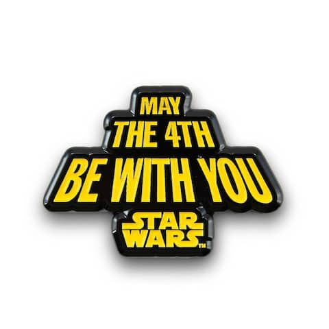 Star Wars May The Fourth Be with You Pin Enamel Star Wars Collector Pin - Multi