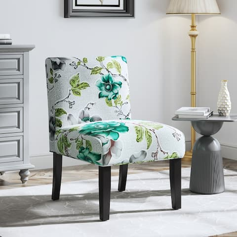 Corvus Dounreay Upholstered Armless Accent Slipper Chair