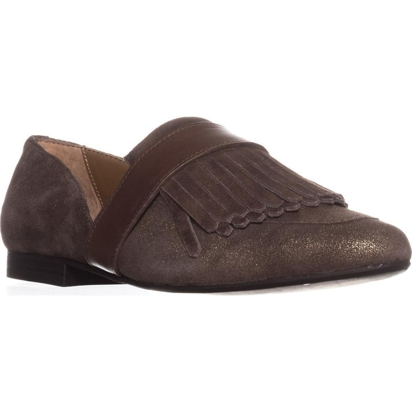 G.H. Bass & Co. Harlow Pointed Toe Loafers, Black