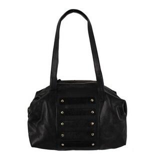 Latico Women's Enzo Handbag 6213 Black Leather - US Women's One Size (Size None)