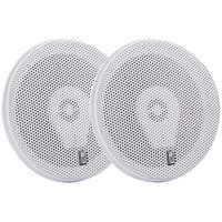 "Poly-Planar 6"" Titanium Series 3-Way Marine Speakers - (Pair)White"