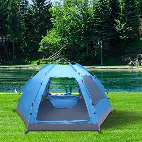 Automatic Family Tent Instant Pop Up Waterproof for Outdoor Activities