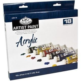Acrylic Paints 21ml 18/Pkg-Assorted Colors - Assorted Colors
