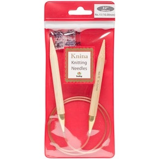 "Tulip Knina Knitting Needles 32""-Size 15/10mm"
