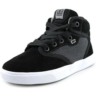 Globe Motley Mid Kids   Round Toe Suede  Skate Shoe
