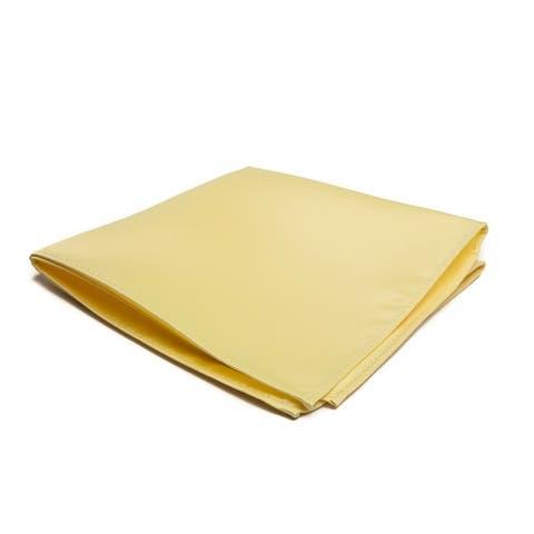 Jacob Alexander Men's Pocket Square Solid Color Handkerchief - One Size