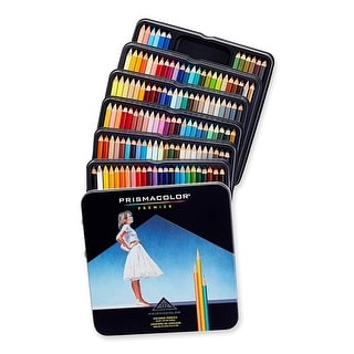 Prismacolor Premier Colored Pencils Soft Core Assorted Bright Colors 132 Count