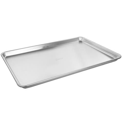 Oster 20.5 Inch x 14 Inch Baker's Glee Aluminum Cookie Sheet - Silver