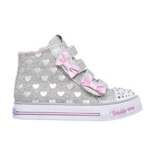 Skechers 10659 GYPK Girl's Toddler SHUFFLES-DOODLE DAYS Sneaker